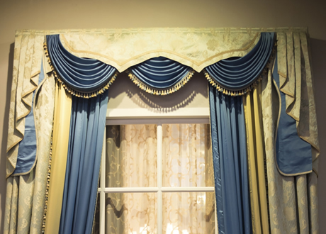 Welcome To Red Spot Dry Cleaners Curtains